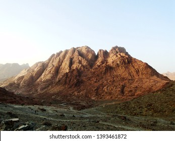 Mount Sinai, known as Mount Horeb or Gabal Musa, is a mountain in the Sinai Peninsula of Egypt that is a possible location of the biblical Mount Sinai, considered a holy site by the Abrahamic religion
