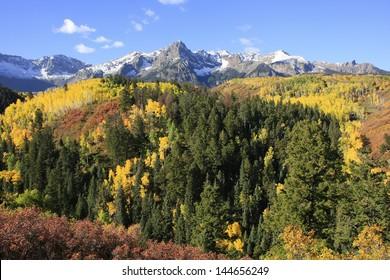 Mount Sneffels range, Colorado, USA