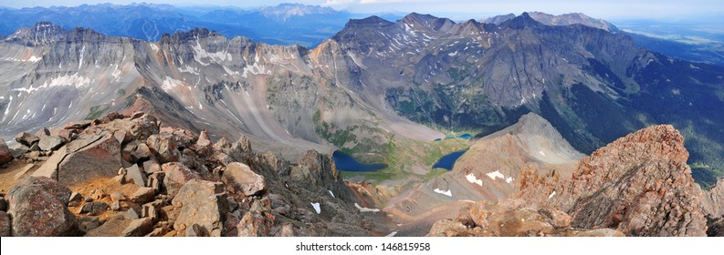 Mount Sneffels and the San Juan Mountains, Colorado Rockies