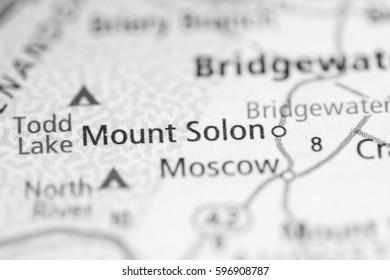 Mount Solon. Virginia. USA