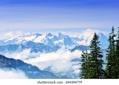 Mount Stanserhorn is located in the canton of Nidwalden and rises to a peak of 6,227 feet above sea level.