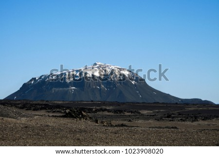 Mount Table Mountain Tuya That Rises Stockfoto Jetzt Bearbeiten