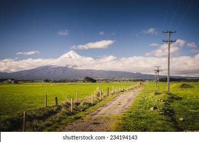 Mount Taranaki, the Fuji of New Zealand