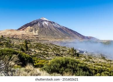 Mount Teide in Tenerife