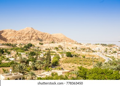 Mount of Temptation next to Jericho - place where Jesus was tempted, Palestinian Autonomy