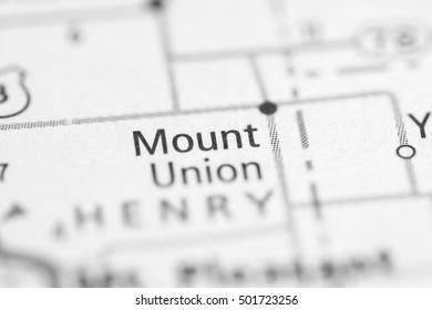 Mount Union. Iowa. USA.