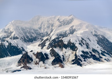 Mount Vancouver in Kluane National Park, Yukon, Canada