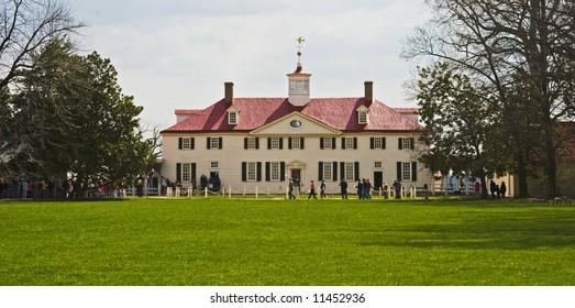 Mount Vernon, George Washington's Estate at the Potomac River, Virginia, United States of America