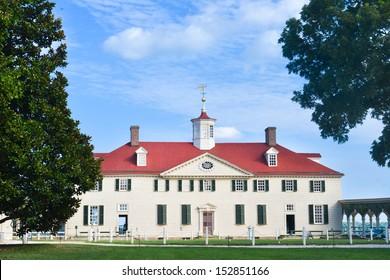 Mount Vernon,  Home of George Washington - Washington DC Metropolitan area - United States