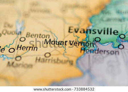 Mount Vernon Indiana Stock Photo Edit Now 733884532 Shutterstock