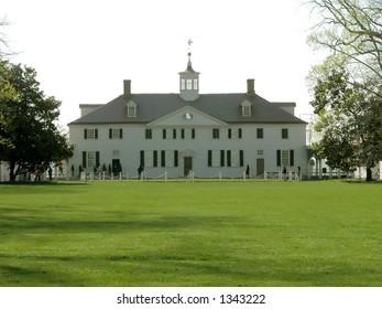 Mount Vernon, Virginia. George Washington's estate just outside of Washington D.C.