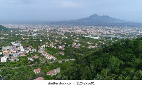 Mount Vesuvius in Italian Monte Vesuvio stratovolcano located on Gulf of Naples Italy the Vesuvius has erupted many times and is regarded as one of the most dangerous volcanoes in the world