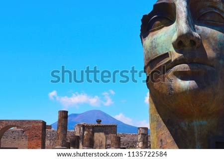 Mount Vesuvius from the
