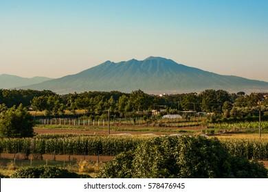 Mount Vesuvius View