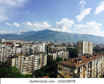 Mount Vitosha in Sofia, Bulgaria
