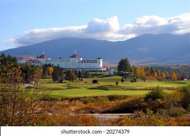 Mount Washington Hotel & Resort in Bretton Woods, New Hampshire