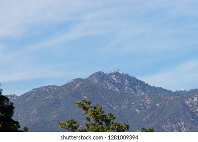 Mount Wilson - peak in the San Gabriel Mountains. California