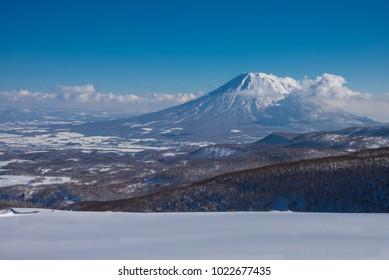 Mount Yotei Japan in winter