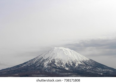 Mount Yotei at Niseko Village in Japan.
