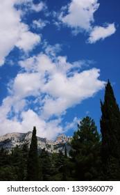 Mountain Ai-Petri, Alupka city (Crimea)