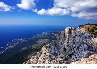 Mountain Ai-Petri, Crimea, Russia
