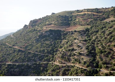 Mountain area of the west part of Crete island, Greece
