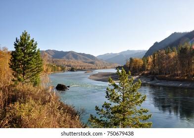 mountain autumn landscapes