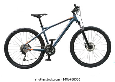 mountain bicycle isolated on white