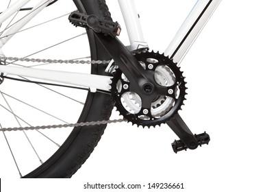 Mountain bike detail