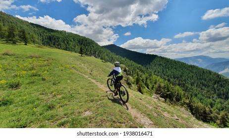 Mountain bike in the mountains