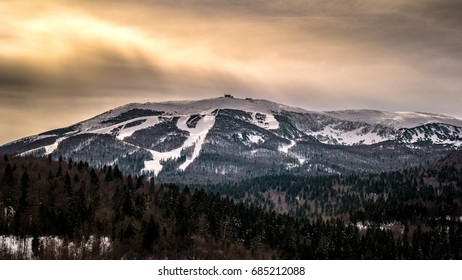 Mountain Bjelasnica in Winter