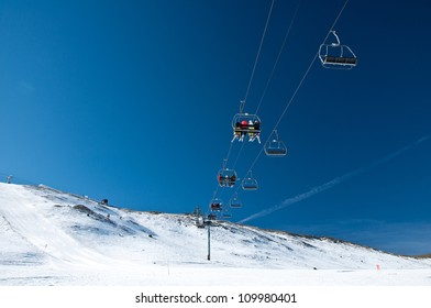 Mountain Chairlift in Andorra