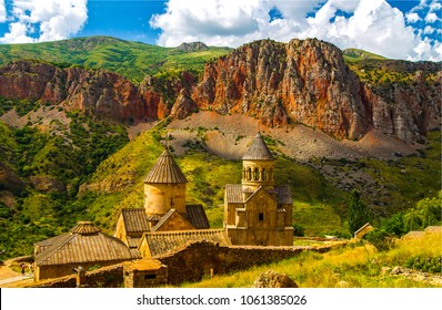 Mountain church in Armenia. Ancient monastery in Armenia