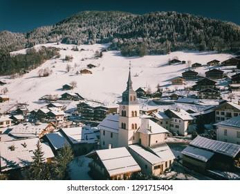 Mountain church - Arêches Beaufort