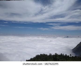 Mountain Clouds Beautiful Scenerio Image - Shutterstock ID 1827622295