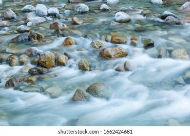 Mountain creek, Adamello-Brenta Natural Park, Italy