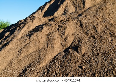 Mountain of Dirt from Construction