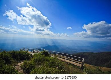 mountain, Doi Inthanon national park, Thailand