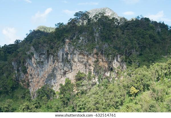Mountain Doi Luang Chiang Dao