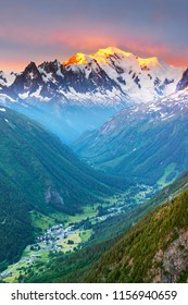 mountain france mont-blanc