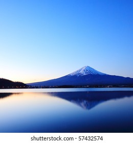 Mountain Fuji at Dawn
