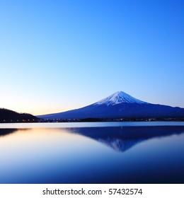 Mountain Fuji at Dawn