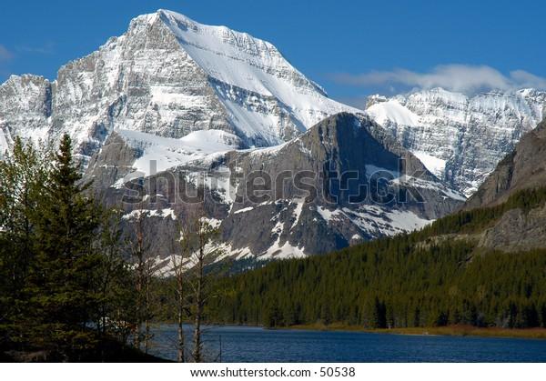 Mountain at Glacier NP