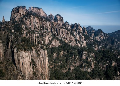 Mountain Huangshan, Anhui, China.