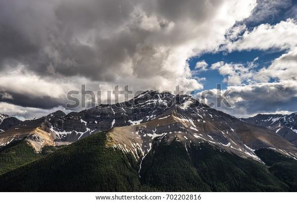 Mountain in Jasper, Canada
