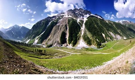Mountain in Ladak near Zozila pass, Jammu and Kashmir, India