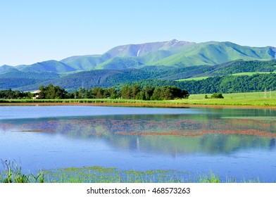 mountain lake in Armenia