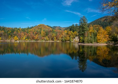 'Mountain Lake' in the Black Forest in Bad Säckingen / Germany