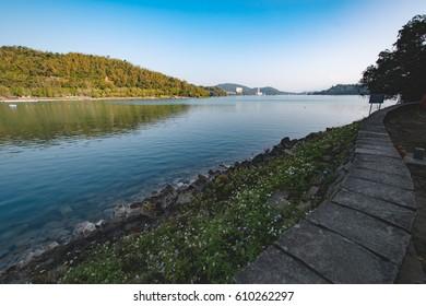 Mountain and Lake Dawn