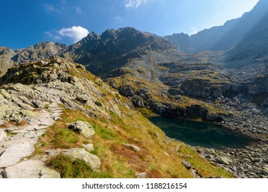 Mountain Lake in the High Tatra, Poland